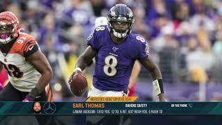 Ravens S Earl Thomas: Lamar Jackson Is MVP-Worthy | The Dan Patrick Show | 11/5/19