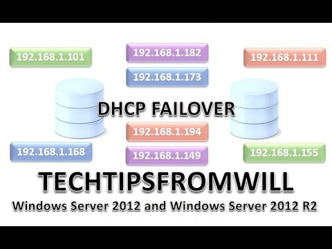 DHCP Failover in Windows Server 2012 and Windows Server 2012 R2
