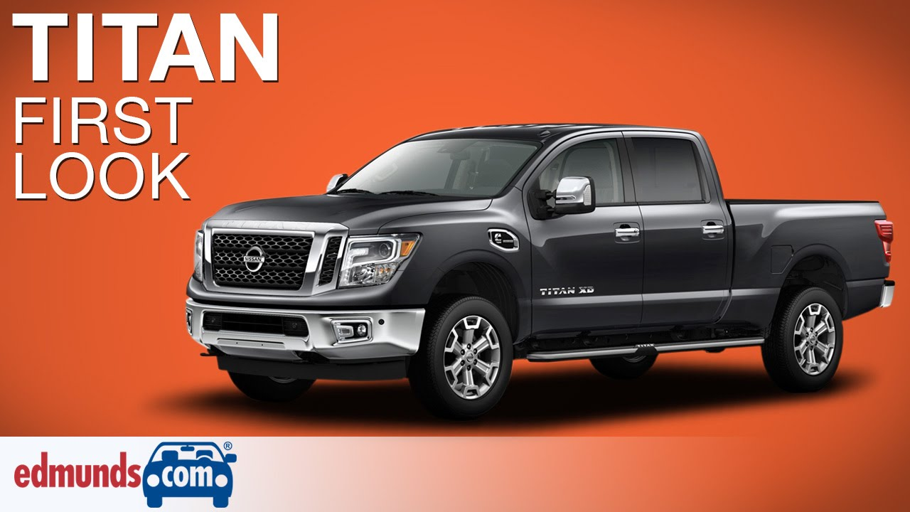 Perfect 2016 Nissan Titan XD First Look  Detroit Auto Show  YouTube
