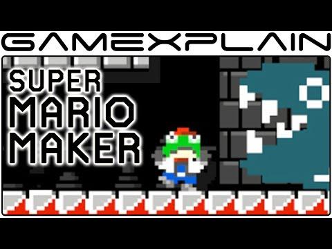 The Most Creative 'Super Mario Maker' Levels We've Seen So