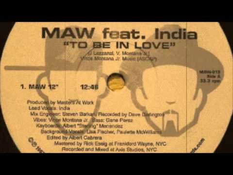 MAW ft India - To Be In Love (Original Edited Mix) 1997