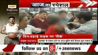Watch: Drunk girl creates uproar on streets of Dehradun