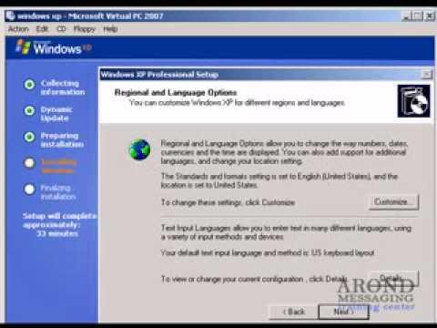 شرح كيفية تثبيت وإعداد نظام ويندوز اكس بي Install windows XP