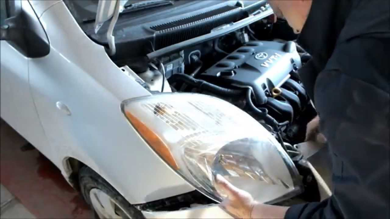 Change A Headlight Turn Signal Or Parking Light On The