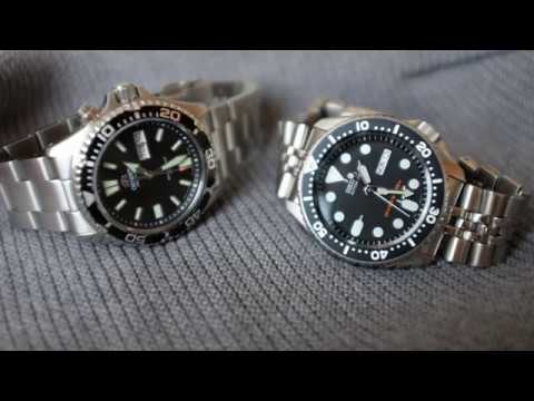 Seiko Vs Orient Best Affordable Diver Youtube