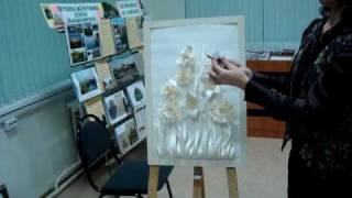 Бумажная пластика мастер-класс-1-3