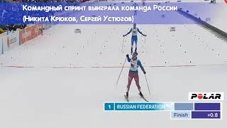 2017 Лахти (Финляндия). Сборная России. ЧМ по лыжным видам спорта