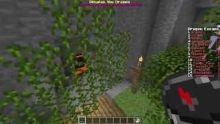 Minecraft: Dragon Escape #1 - Skok w bok w/ Bremu