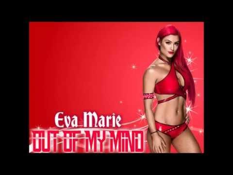 Eva Marie WWE Theme - Out Of My Mind (lyrics)