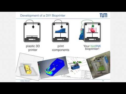 Volker Morath on 3D Bio-printing (RebelBioFuture)