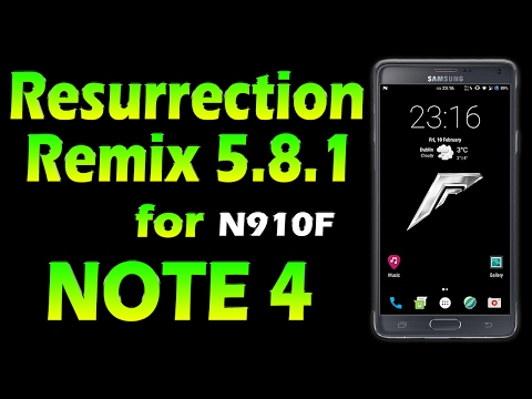 ROM Resurrection Remix 5 8 1 - Nougat 7 1 1 for Galaxy NOTE 4 [ROM RRmix  5 8 1]