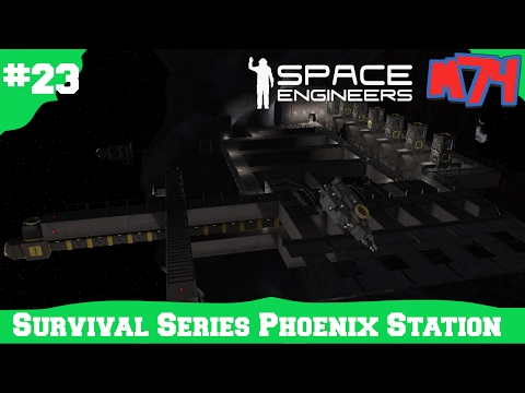 Space Engineers Survival Series: Phoenix Refueling Station[S1E23]