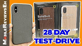 IT'S BACK! - RhinoShield SolidSuit Review - iPhone XS and iPhone 8