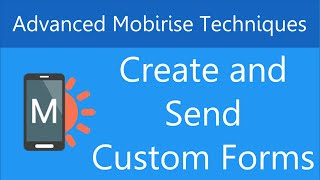 Create Custom PHP Forms in Mobirise