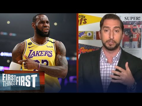 Nick reacts to Paul Pierce not including LeBron in his all-time Top 5 | NBA | First Things First