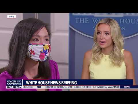 THIS MOMENT: Kayleigh McEnany Takes Back Control Of Briefing