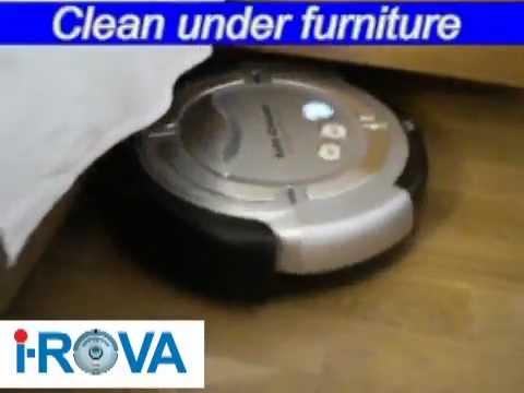 I Rova M 488 Intelligent Robot Vacuum Cleaner Youtube