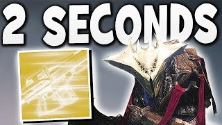 Destiny - COMPLETE NIGHTFALL IN 2 SECONDS !!