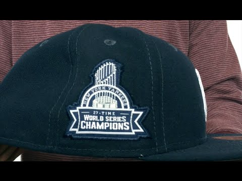 f54643177 Yankees 27X 'TITLES SIDE-PATCH' Navy Fitted Hat by New Era - YouTube