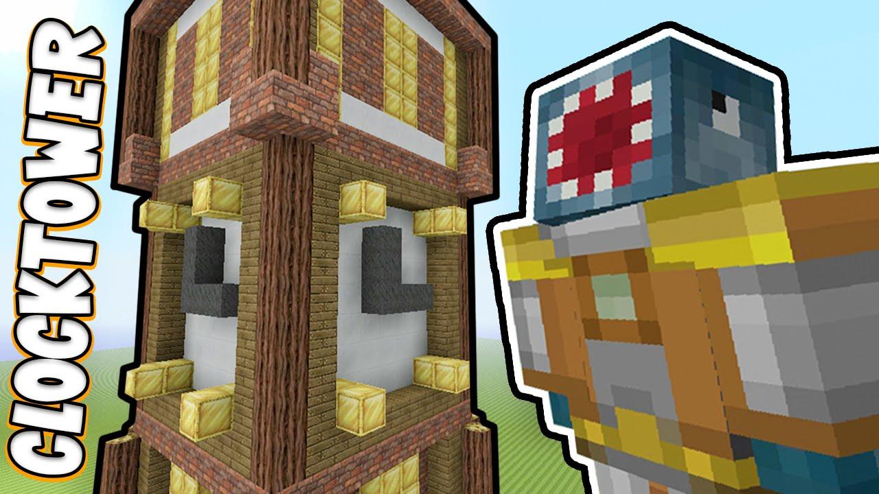 Minecraft Xbox - STEAMPUNK CLOCKTOWER!! - Building Time! [#42]