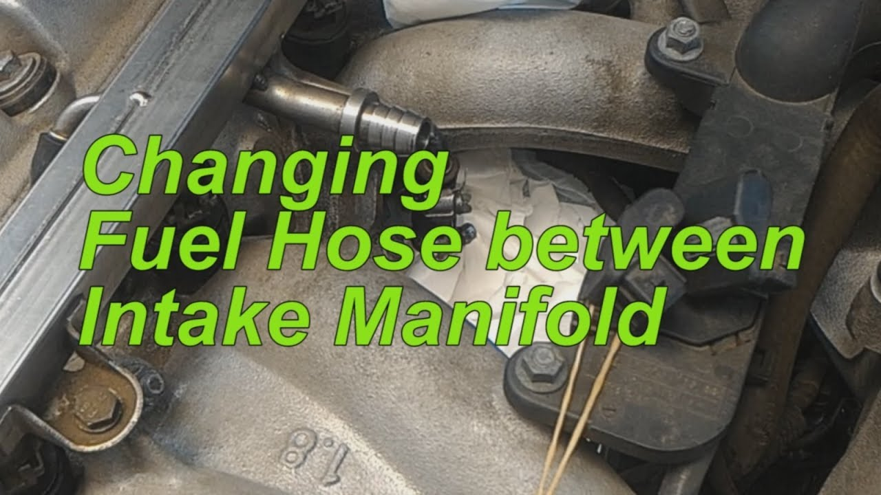 maxresdefault changing fuel hose between intake manifold, bmw e36m43 youtube