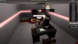 How to get the Premiers Chair Badge in Roblox Military Simulator