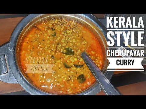 how to make cherupayar parippu curry