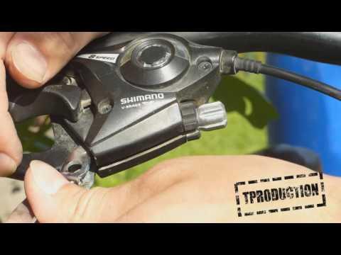 Замена троса заднего тормоза на велосипеде