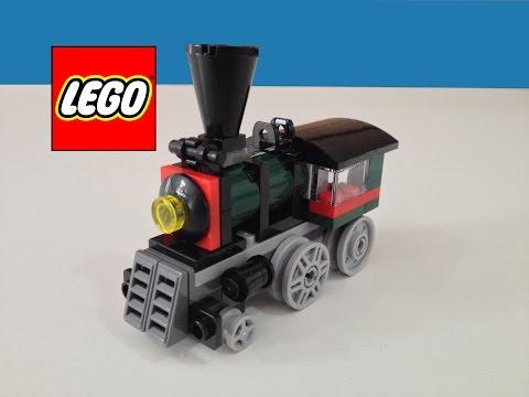 Lego Creator 31015 Trem Expresso Esmeralda - Building Toy Esmeralda Express 3 in 1