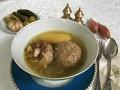 Bozbaş. Bakı mətbəxi. Küftə-bozbaş Кюфта-бозбаш. Бакинская кухня.