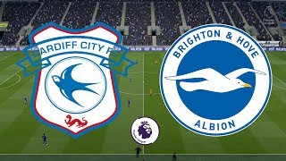 Premier League 2018/19 - Cardiff City Vs Brighton - 10/11/18 - FIFA 19