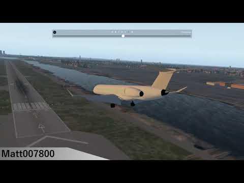 KCJ110 CRAP Landing at EGLC