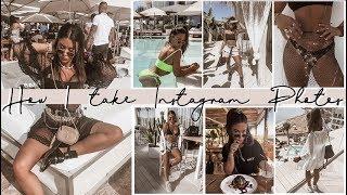 How I take + edit Instagram photos - IBIZA EDITION! BTS