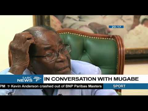 Sophie Mokoena in conversation with Robert Mugabe