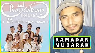 Ramadan Berkah -Selfi, Lesti, Rara, Putri, Aulia, Fildan, Faul, Reza | Official Music Video REACTION