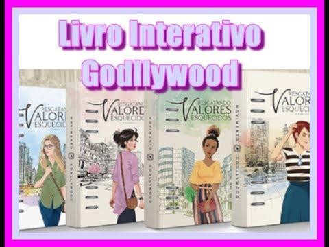 Livro Interativo - Planner/Agenda Cristã - Godllywood