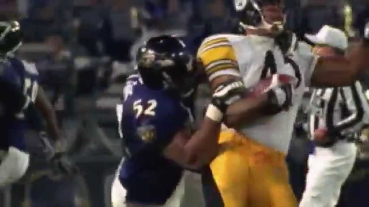 Ray Lewis Football Hits: Ray Lewis Hard Hit Highlight Greatest Tackler Of Alltime