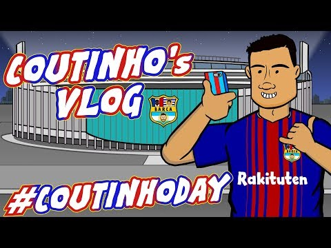 📹#COUTINHODAY - the VLOG!📹 Phil signs for Barcelona! (PARODY)