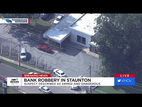Police Investigating Bank Robbery In Staunton, Illinois