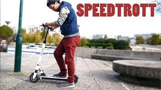 Je test la trottinette électrique SPEEDTROTT ST12