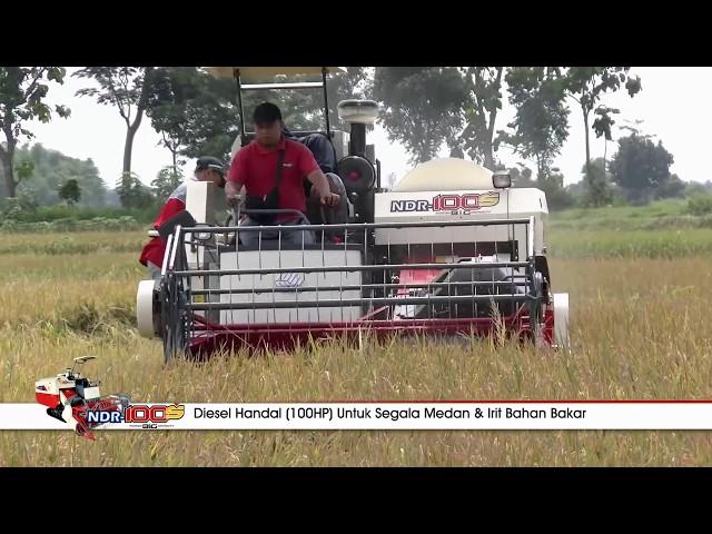 MAXXImania : MAXXI NDR-100S, Best Performance Combine Harvester