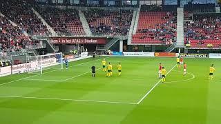 AZ Alkmaar - ADO Den Haag 1-0 strafschop weghorst