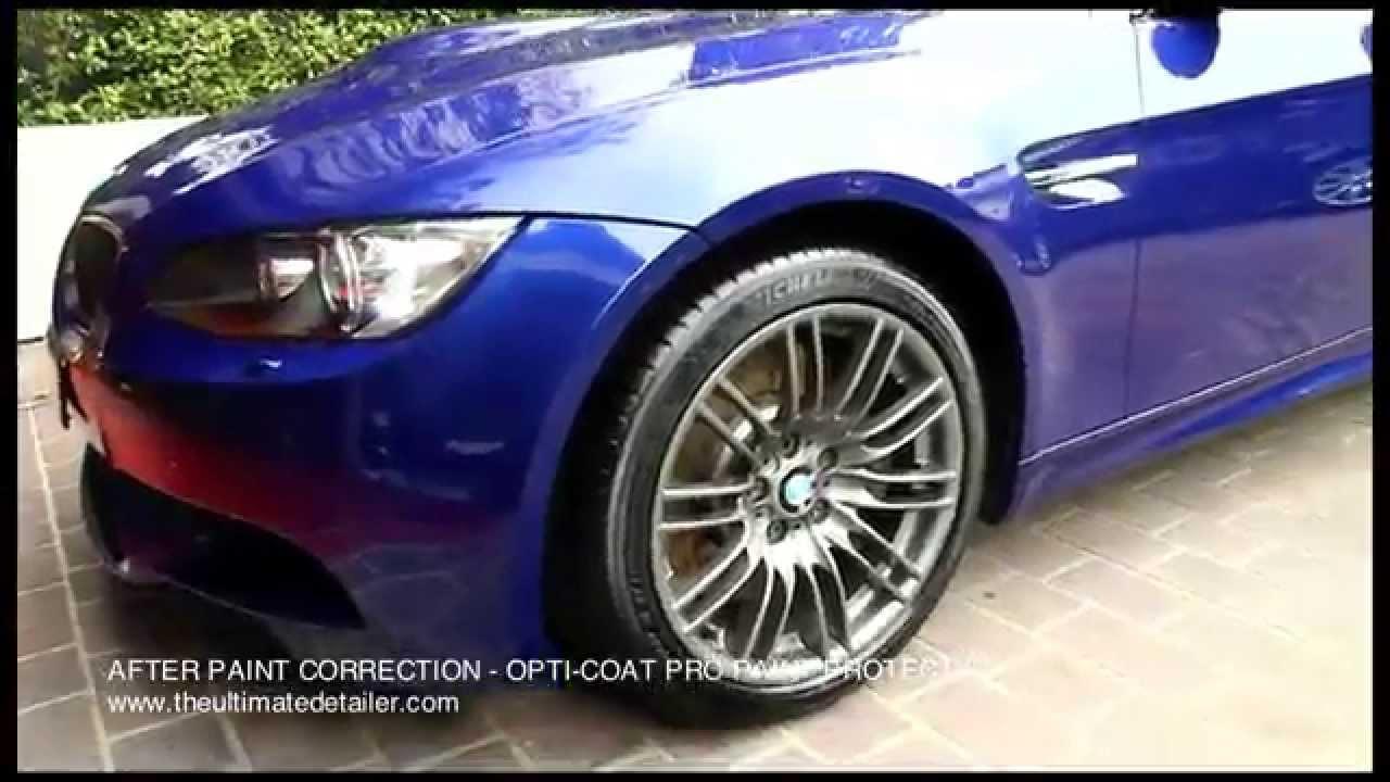 Pro Car Detailing   BMW M3 E92 Paint Correction U0026 Paint Protection