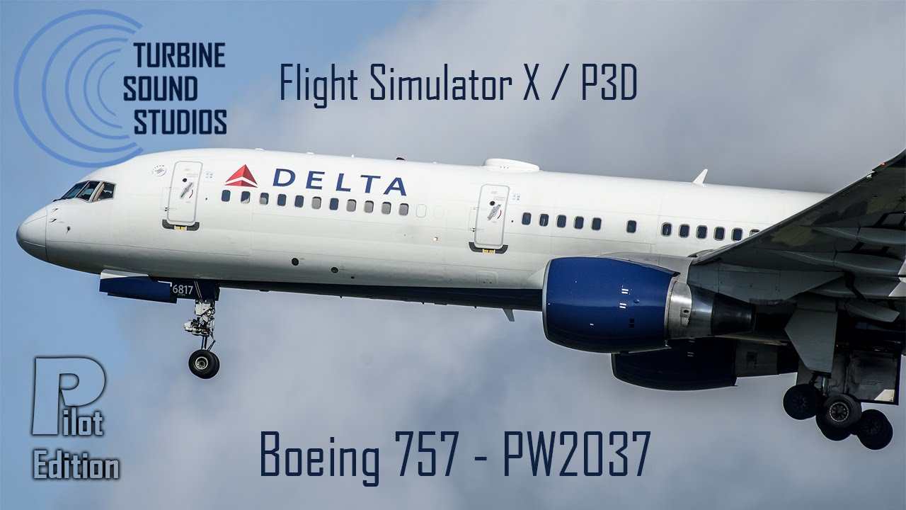 Just Flight - TSS Boeing 757 PW2037 Pilot Edition Sound Package