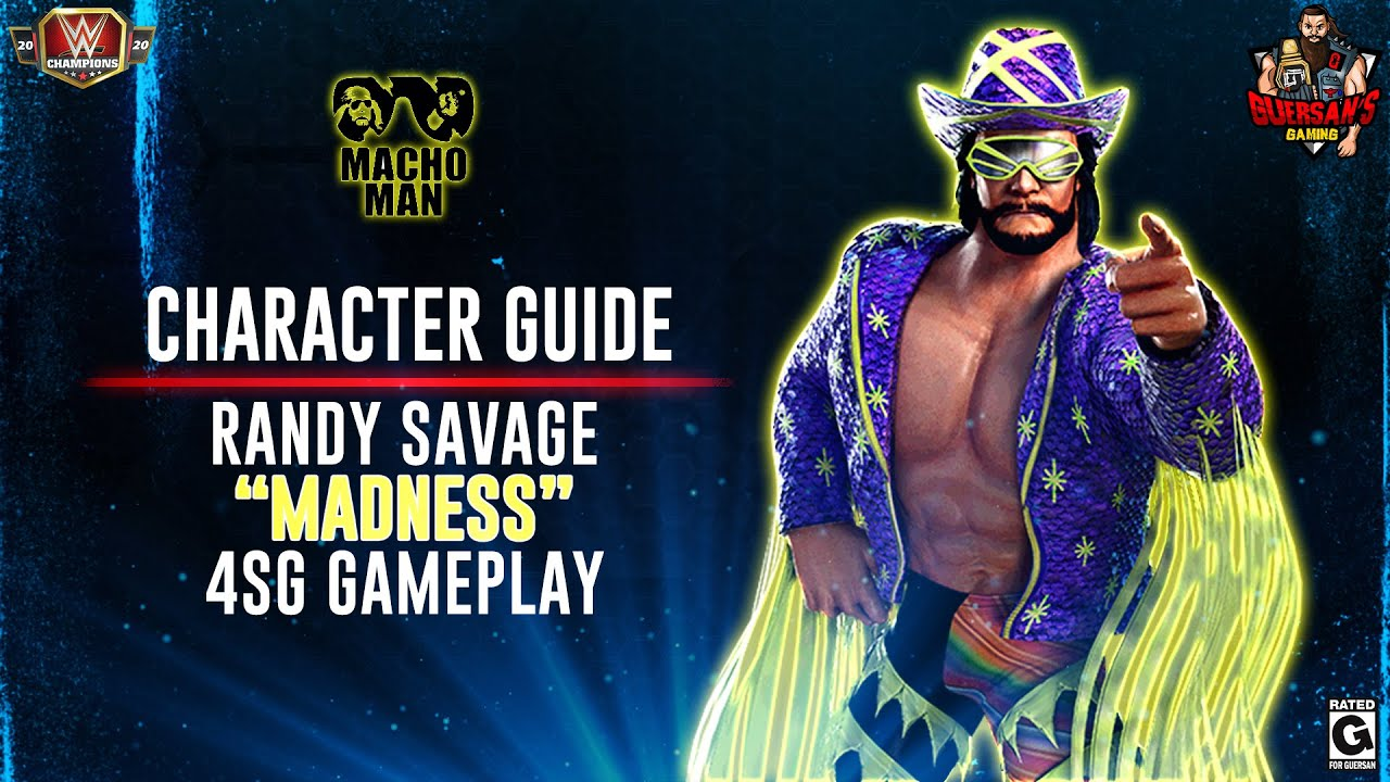 character guide series randy savage madness 4sg gameplay wwe champions