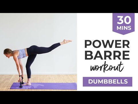 Barre Fitness: 30-Minute Power Barre Workout Video