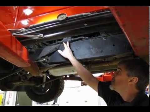 Atlantic British Presents Replacing The Fuel Filter On A