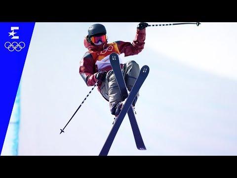Freestyle Skiing   Ladies' Ski Halfpipe Highlights   Pyeongchang 2018   Eurosport