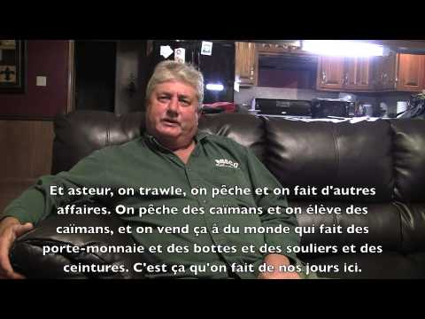 "Louisiana French ""Cajun"" Language Interview with Mr. Glen Trahan"
