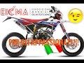FANTIC CABALLERO CASA MOTARD 50cc - EICMA 2016